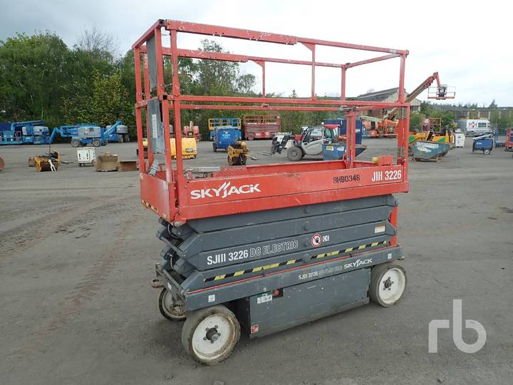 Skyjack SJIII3226 Electric - 2012