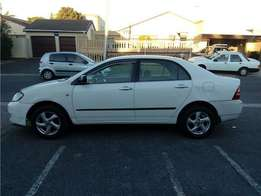2004 Toyota Corolla 1.6i on month end special sale