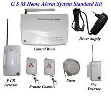 Wireless GSM intelligent anti-theft electronic alarm system