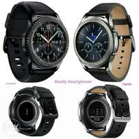 Samsung Gear S3 Frontier and classic each with warranty