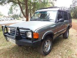 land rover discovery 2. tough machine!