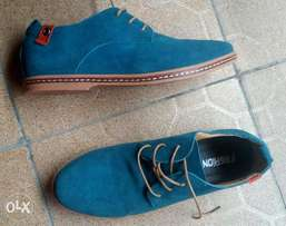 Quality Men Business Casual Suede Shoe Size 42