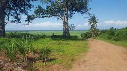 -Land in Ramisi kwale county south coast 4.5 acres -Very fertile soil