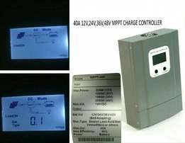 Mppt solar charge controller 40amps