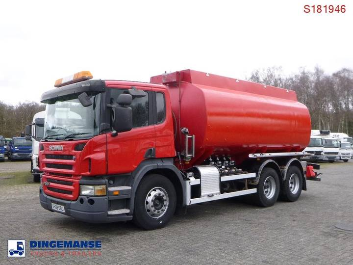 Scania P310 6x2 RHD fuel tank 20.9 m3 / 4 comp - 2008