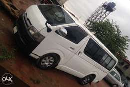 Registered Toyota Hiace Bus