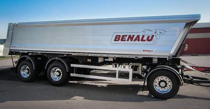 Benalu Tippsläp 3-axlad Siderale 78, 30 Ton. - 2018