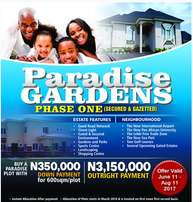 Paradise Garden Phase 1 For Sale