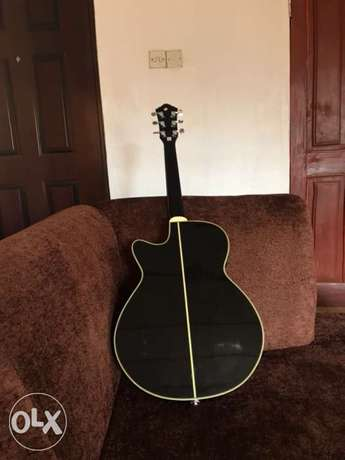 Ibanez AEG10BK Acoustic Electric Guitar with free Guitar Textbook Alimosho - image 7