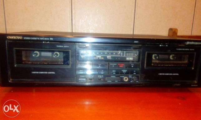 onkyo double tapes deck