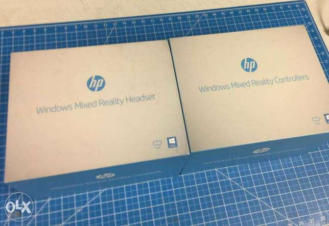 HP Windows Mixed Reality Headset with Motion Controllers + Cord