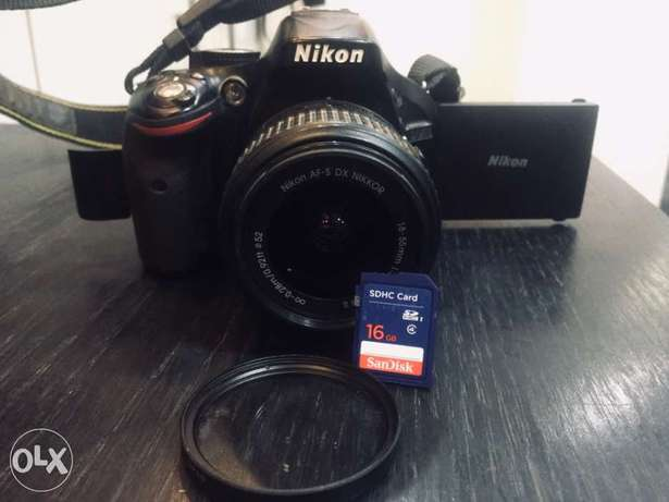 Nikon D5200 ( Full photography package 10 in 1 )