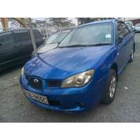 SUBARU IMPREZA REG NO KCB manual transmission cc 1500 Yom 2008