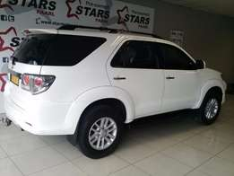 Toyota Fortuner 2.5 D-4D well priced with leather phone now