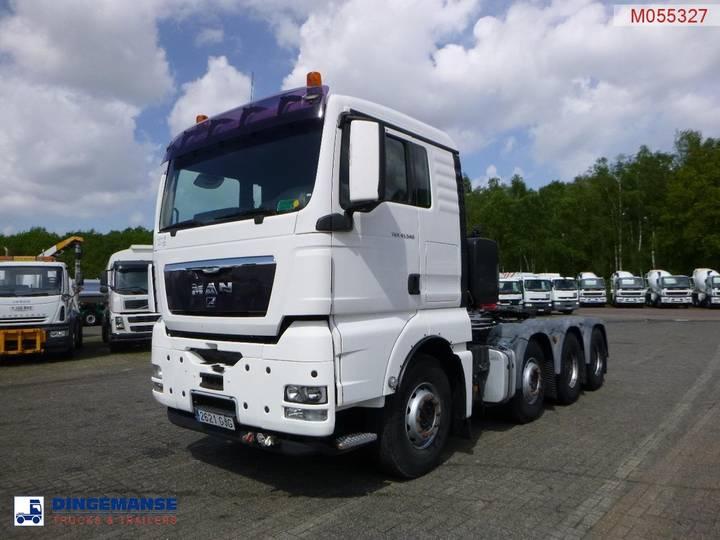 TGX 41.540 8X4 manual + Retarder / 160000 kg - 2008