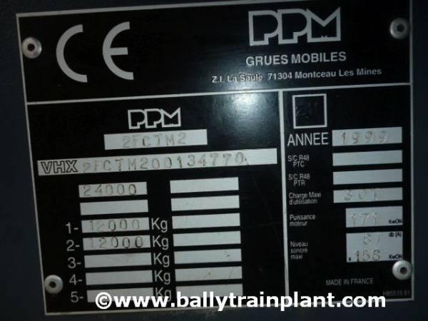 PPM 350 Att All Terrain Crane - 1999 - image 8