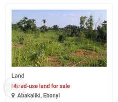 Land for sale in Abakiliki