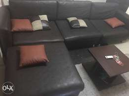 Very clean leather furniture for sale. chairs