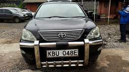 Toyota Harrier/Lexus 3ltr (2005)accident free at 1.3m