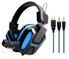 Red Vergio EWave LY805 Gaming Headset