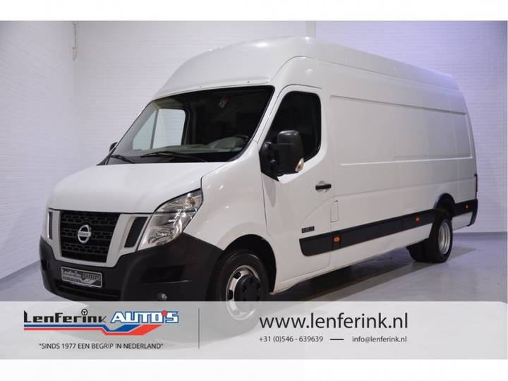 Nissan NV400 2.3 DCi 125pk L4H3 Airco, Cruise Control, Dubbellucht, - 2014