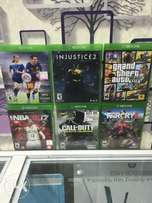Xbox one games available now