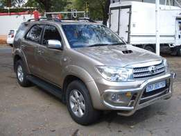 2010 Toyota Fortuner 3.0 D4-D R/B 4x2 Automatic