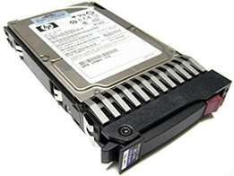 HP Sas Hard Drive 146gb 10k 2.5 Single Port In Tray