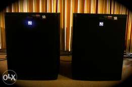 Electro voice elx118p subs for sale!