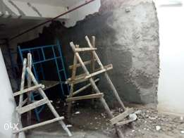 Waterproofing of a retaining wall in a basement at westlands-nairobi