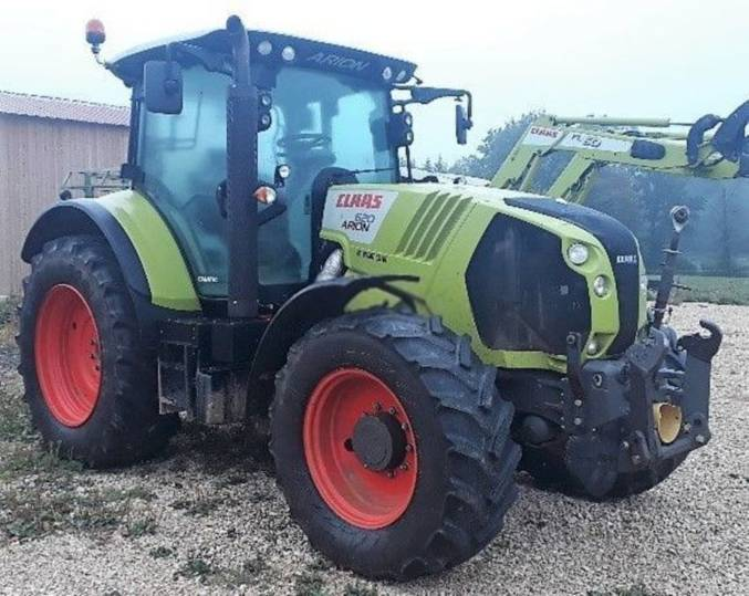 Claas arion 620 cmatic - 2015 - image 2
