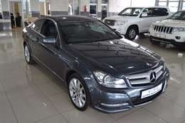 2013 Mercedes-Benz C180 BE Coupe Automatic,