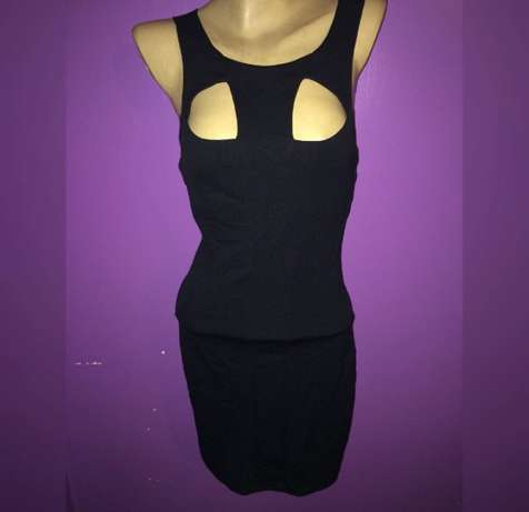 black bodycon dress Imara Daima - image 1