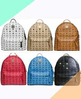 mcm studed bag packs