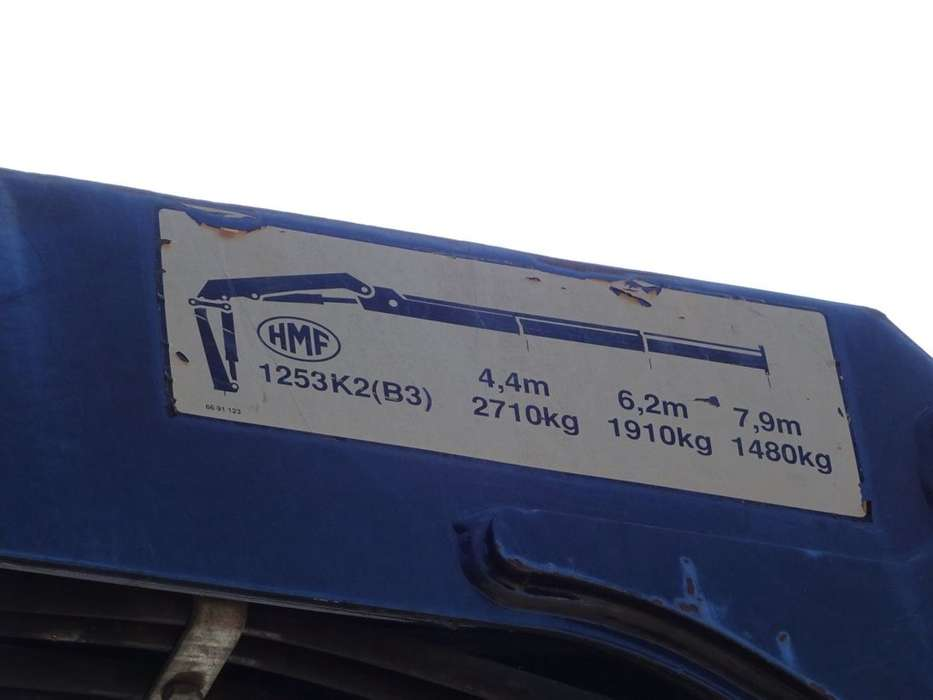 DAF CF 65.180 4X4 / 3 SIDE TIPPER / CRANE / MANUAL - 1995 - image 6