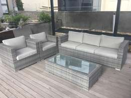 4 Piece Patio Lounge Set for sale - 3 months old
