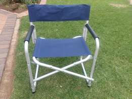 camping director folding chair