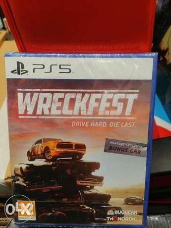 WreckFest Ps5 Game available now