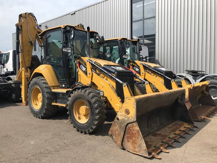 Caterpillar 428F2 4x4 Loader Backhoe - 2017