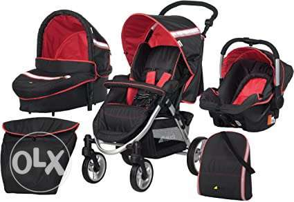 Hauck All-in-One stroller, seats...