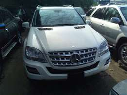 Mercedes M series in stores