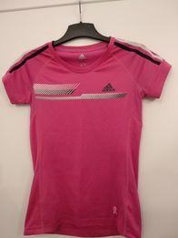 55d690fd0ee156 Koszulka do ćwiczeń adidas S różowa