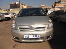 Pre owned 2006 Toyota Coolla Verso 1.8 TS Hatchback