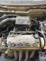 Honda Civic 150i Stripping