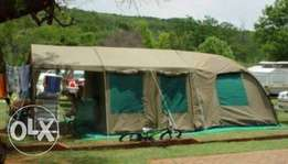 Campmor canvas tent