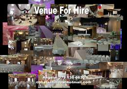 Venue for Hire - Weddings, Corporate, Birthdays, etc.