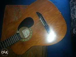 New clean acoustic guitar
