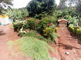 Quick sale 1.25 acres behind EMBU university. EMBU county.