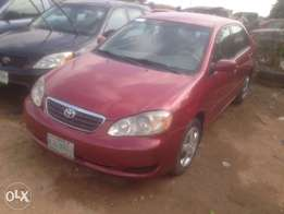 Toyota Corolla 2006 red color