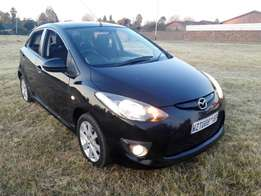Black Mazda2 for a low price